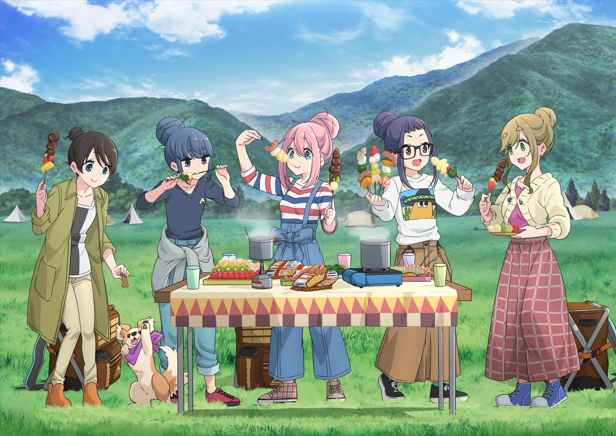 Laid Back Camp (Yuru Camp) Season 2: Release Date of the Anime Announced, Details Inside!!!