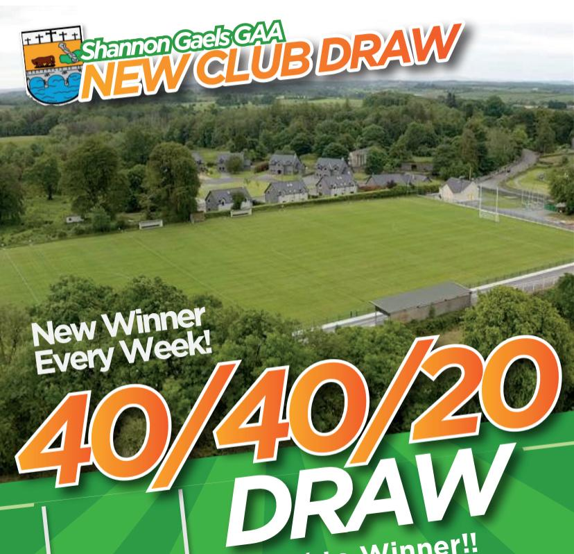 As we head into the weekend make sure you have your ticket for draw on Sunday night 404020.ie 🤑💵 Best of luck everyone🍀