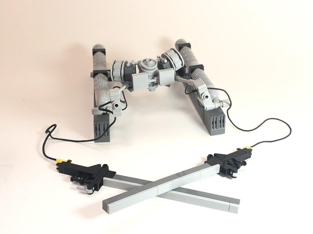 レゴで進撃の巨人の立体機動装置を作りました。#LEGO #進撃の巨人