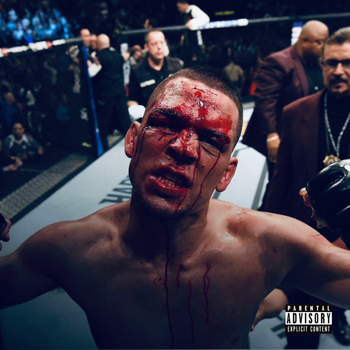 Replying to @ConOfCombat: MMA moments into album covers