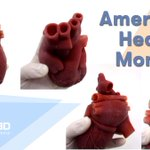 Image for the Tweet beginning: February is American #HeartMonth! Diet