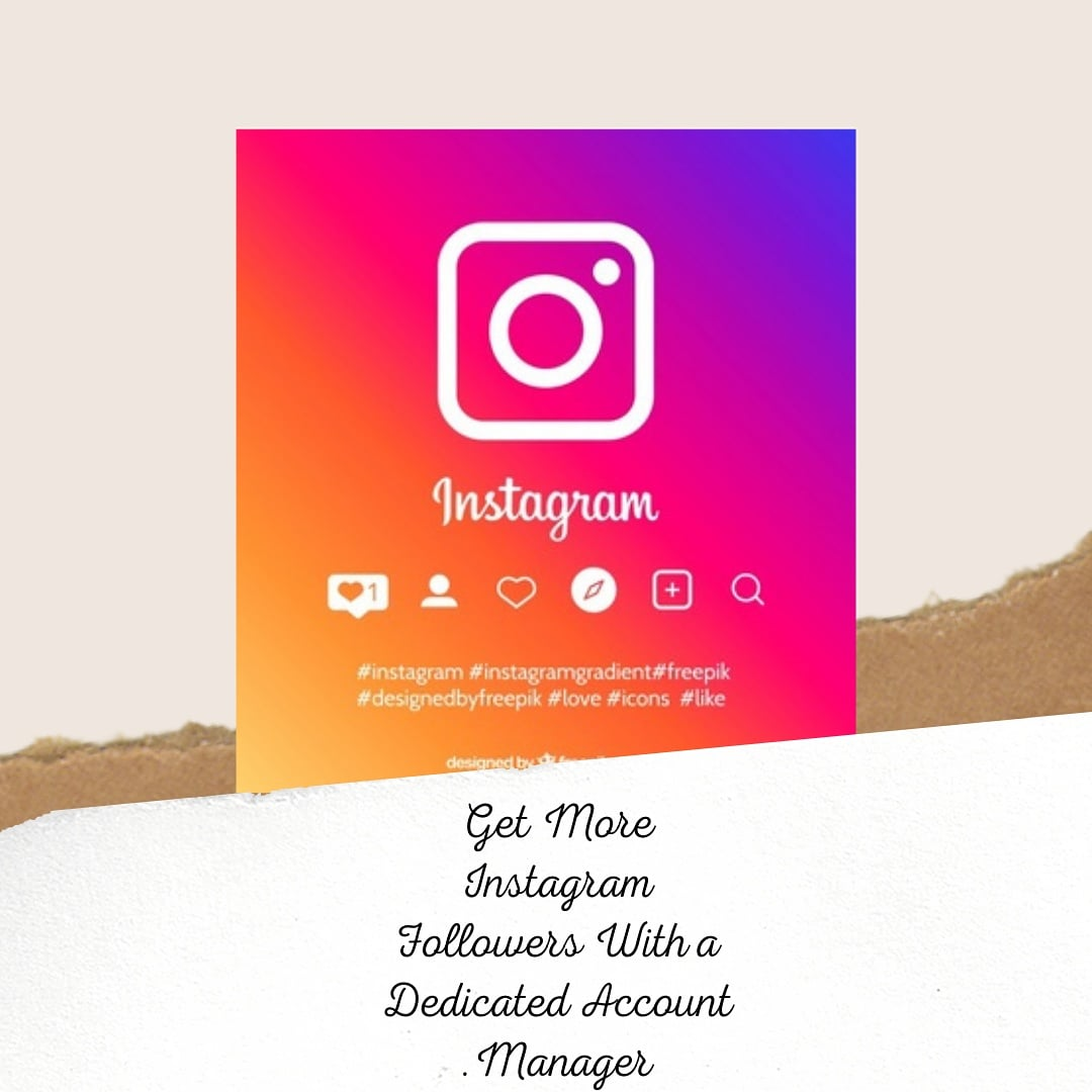 Get More Instagram Followers With a Dedicated Account Manager #AskLilDurk  @LouDobbs #SmackDown #ManhuntMovie @malcolmariefilm   Check it out