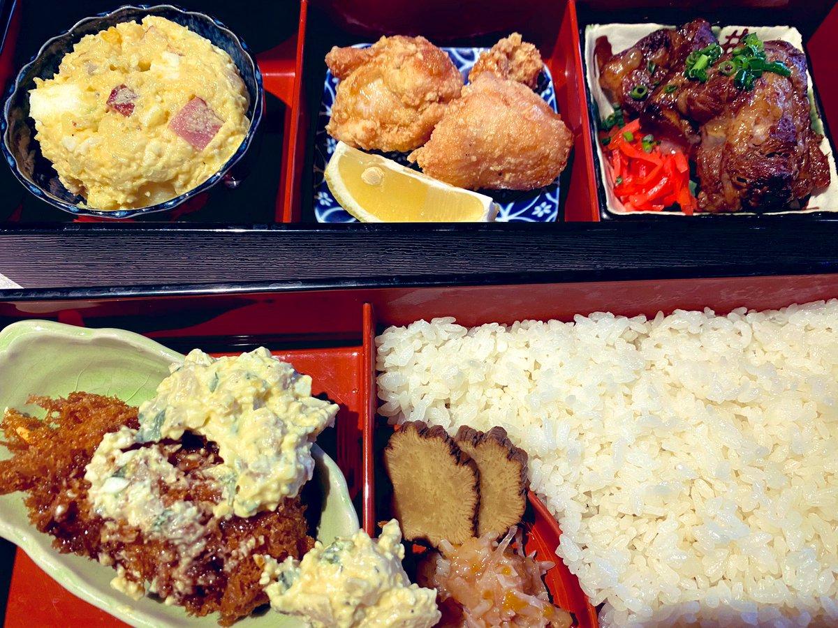 本日の #子連れランチ は十番右京恵比寿店。1580円の十番右京御膳が抜群の美味しさで、今度Uber Eatsでも頼みたいねと話してた。アラカルトの海鮮丼も、小ぶりながら美味だった😍娘ちゃんは880円のうどん。これも美味しい❗️👉