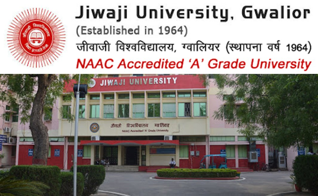 Ph.D. program Entrance Test by Jiwaji University, Gwalior, India, Total seats=947