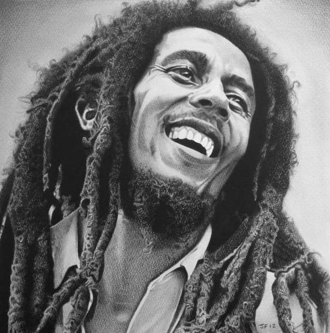 Happy birthday to you Bob Marley!