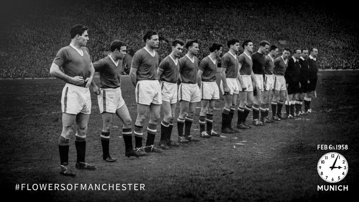 Replying to @ManUtd: Always remembered. Never forgotten.  #FlowersOfManchester