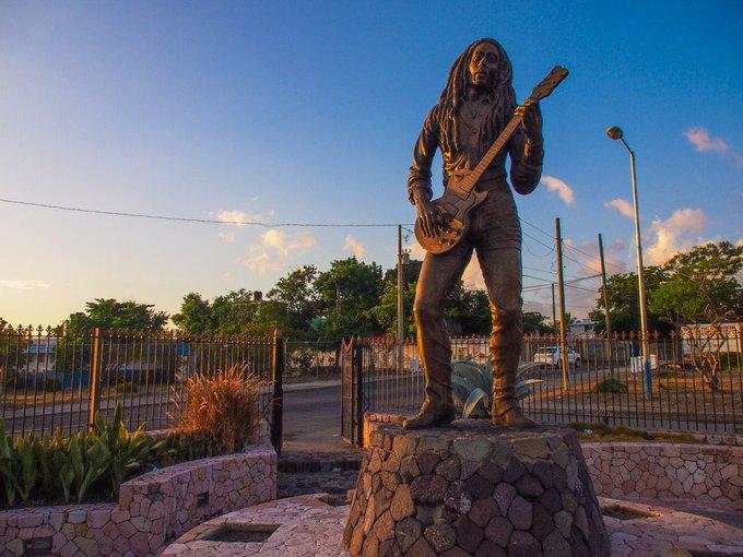 Happy birthday to Bob Marley, king of reggae peace activist.