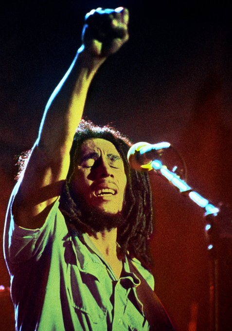 Happy Birthday to Bob Marley who was born February 6, 1945. He would ve just turned 76 today.