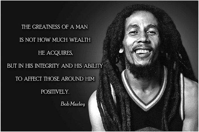Happy Birthday respects for Bob Marley - Icon - Musician - Activist - Teacher - God-soldier -