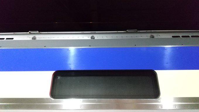 E235系1000番台がまた故障 今度は側面LED幕が無表示に