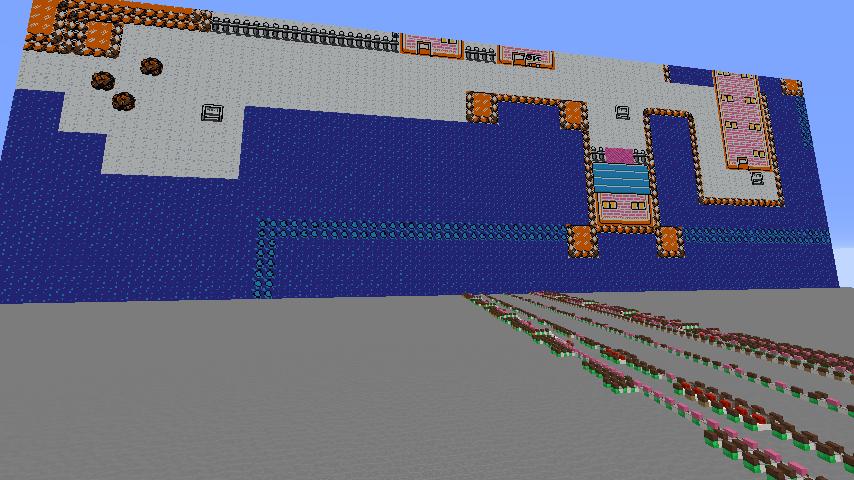 【Minecraft】音ブロックでなみのりを演奏してみた【ポケモン金銀】