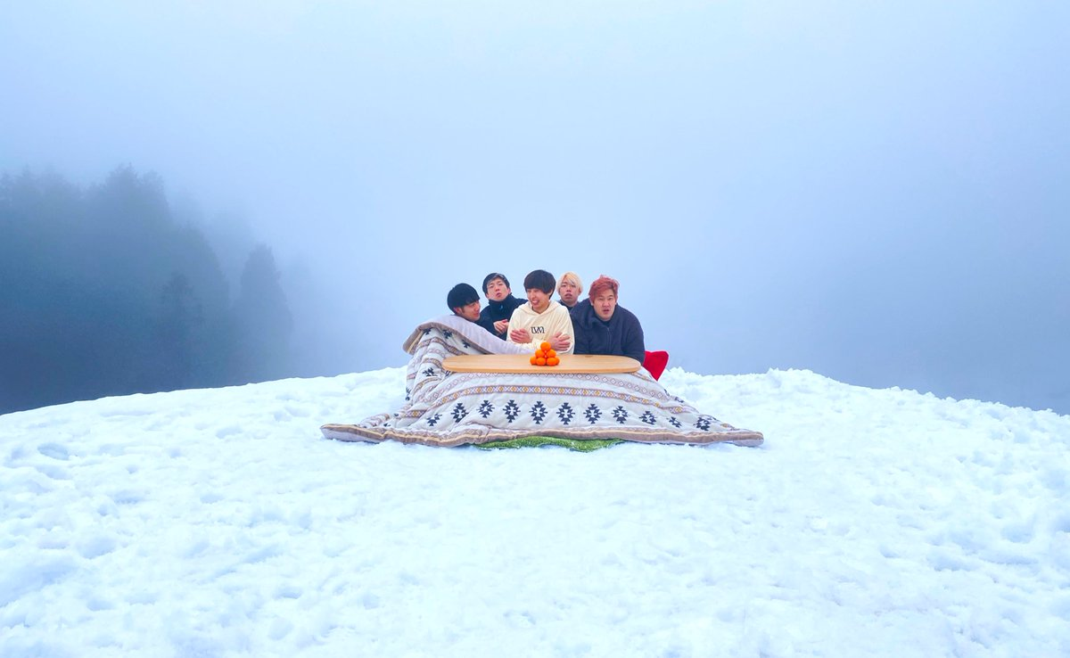 24時間雪上こたつチャレンジ❄️19時プレミア公開🥶