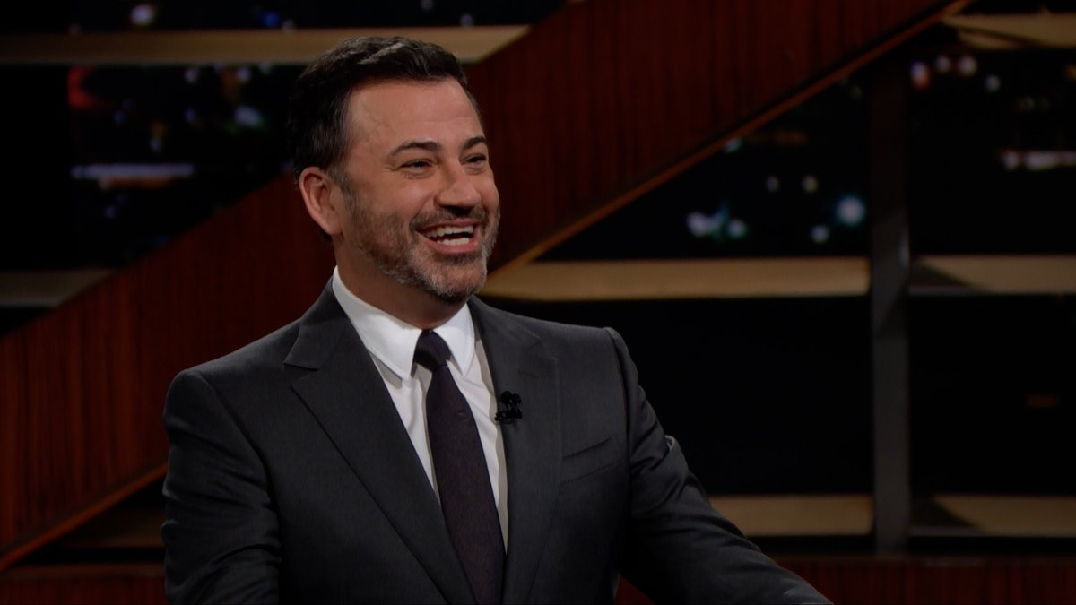 """""""People, when they ask you about growing up in Las Vegas, it's as if you grew up on a pirate ship or something... 'Was it scary? Were you drunk all the time? Did you lose an eye?'""""  Watch @JimmyKimmel join @BillMaher on last night's #RealTime:"""