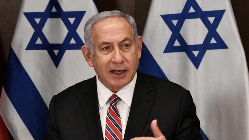 """إسرائيل تغرد : رئيس الوزراء نتنياهو: """"المحكمة الجنائية الدولية تزعم بشكل شائن أن عندما يعيش اليهود في وطننا هذه هي …"""