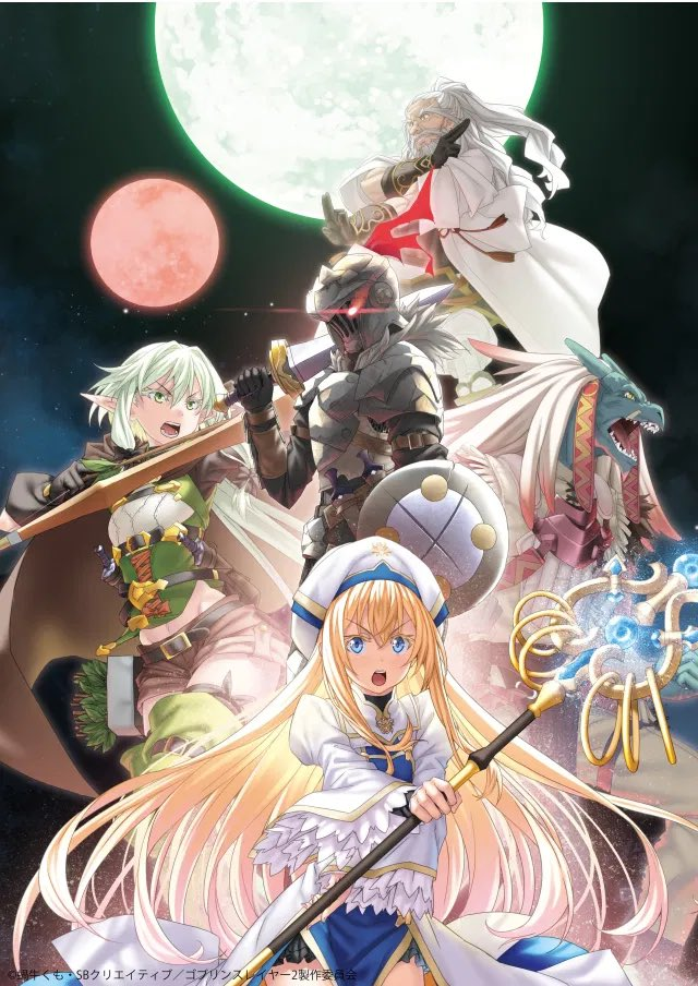 @MatthewHVoss @colorworldbooks @mall0rie Wait she's back YOOOO NO WAYY I gotta hangout with her and scream with excitement about goblin slayer getting a season 2 I mean just look at her characters new visual for S2 😍