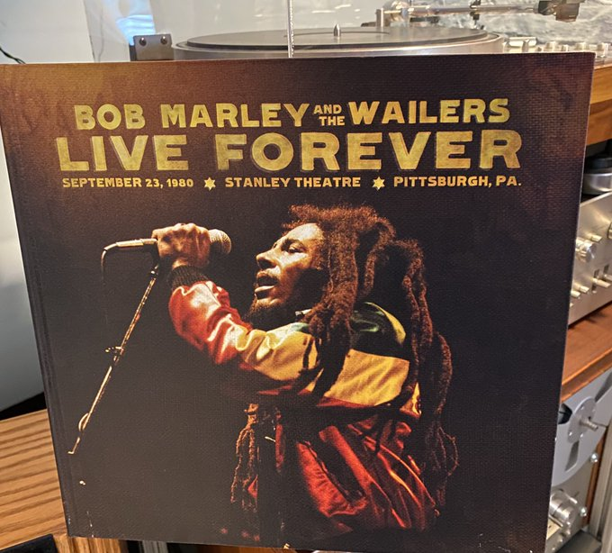 Now spinning at Skylab:  Bob Marley & The Wailers - Live Forever Happy 76th birthday !!!