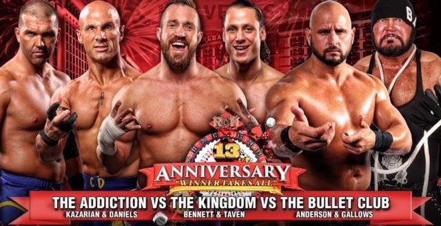 Mike Bennett Wants To Recreate 2015 ROH Match