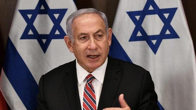 """رئيس الوزراء نتنياهو: """"المحكمة الجنائية الدولية تزعم بشكل شائن أن عندما يعيش اليهود في وطننا هذه هي جريمة حرب… ولكنها …"""