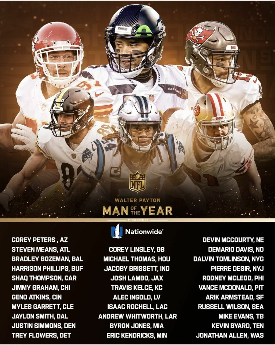 AN AWARD THAT MANY PLAYERS SAY 'MEANS MORE THAN WINNING A SUPERBOWL'...  WHO DESERVES THE #WPMOY AWARD?  (A SHAME THERE AREN'T 32 AWARDS!)  HAVE YOUR SAY IN THE COMMENTS 👇  #NFL #NFLUK #NFLUKOPS #TOUCHDOWN #NFLTWITTER #wpmoychallenge #CHARITY #SuperBowl #COMMUNITY #NFLFAMILY