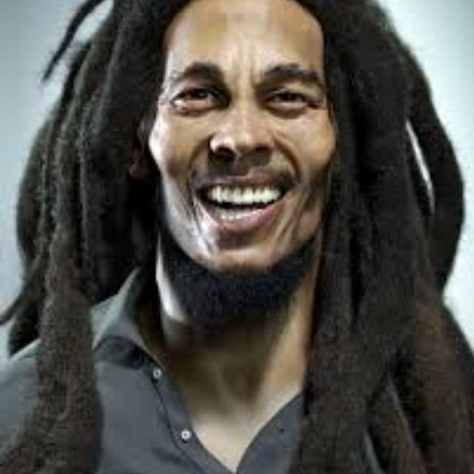 Happy 76th heavenly birthday to Bob Marley!!!!