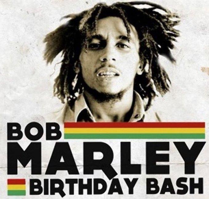 Happy birthday to Bob Marley. Marley .