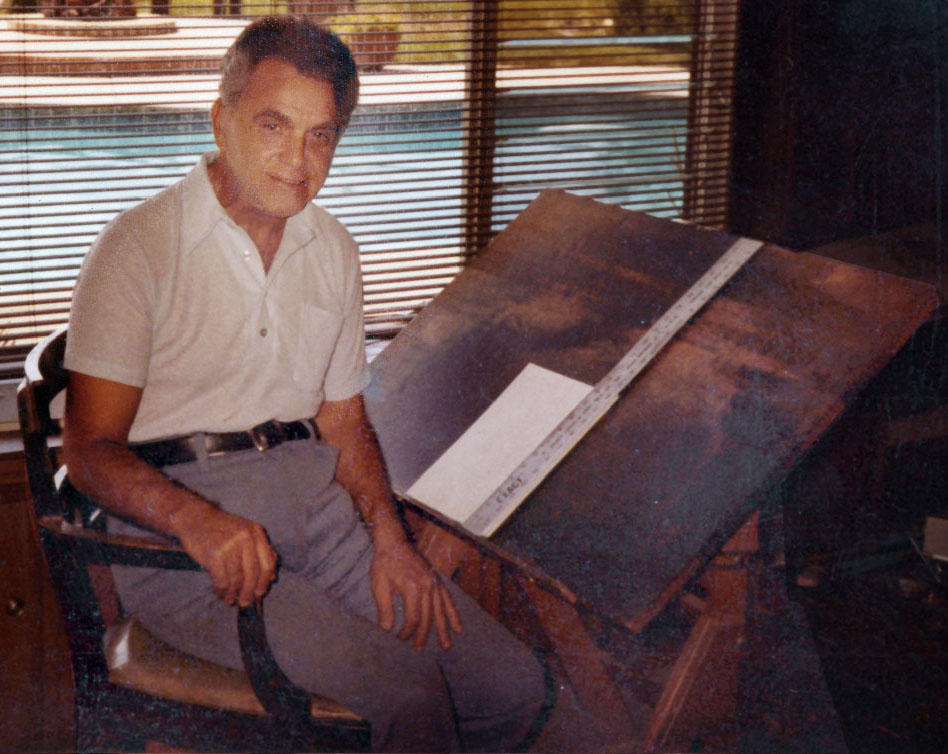 Jack Kirby passed away 6 February 1994. He is missed!  We're thankful for him, his family, his work, his stories, his characters...