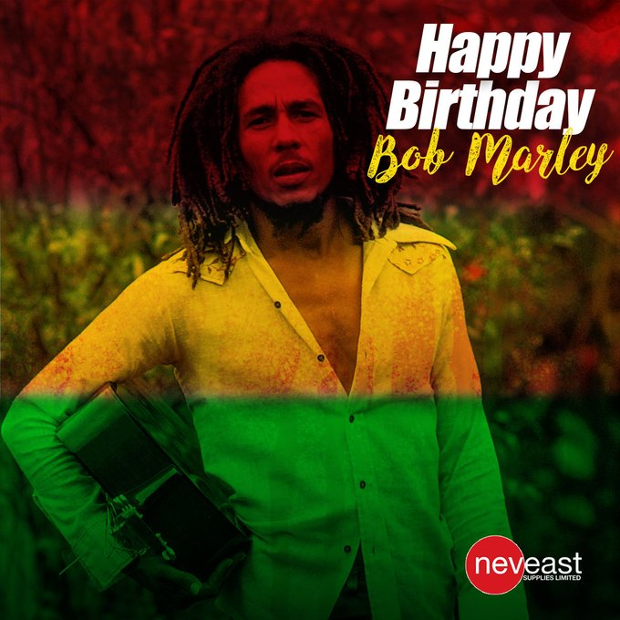 Happy 76th Birthday to a true icon, Bob Marley.