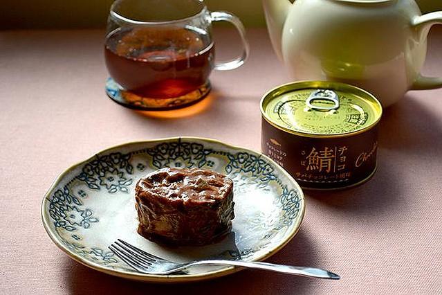 【気になる】バレンタインデーのプレゼントにも、チョコ味のサバ缶登場「Ca va?缶」の製造を手掛ける「岩手缶詰」から誕生。甘さ控えめチョコソースが、サバの旨みにマッチしているという。