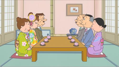 【14日放送】『サザエさん』バレンタインデーに1時間拡大SPスペシャルでは、ノリスケの知られざるお見合いの秘密が明らかになるという。他にも、3つのエピソードが放送される。