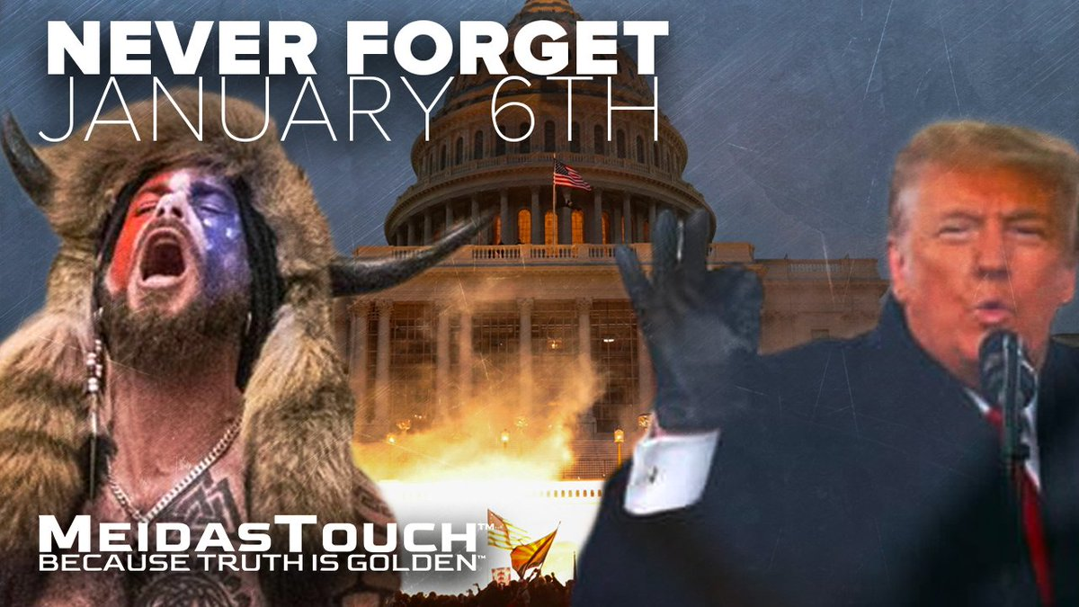 Replying to @funder: We should never forget January 6th. Raise your hand if you agree. #NeverForgetJanuary6th