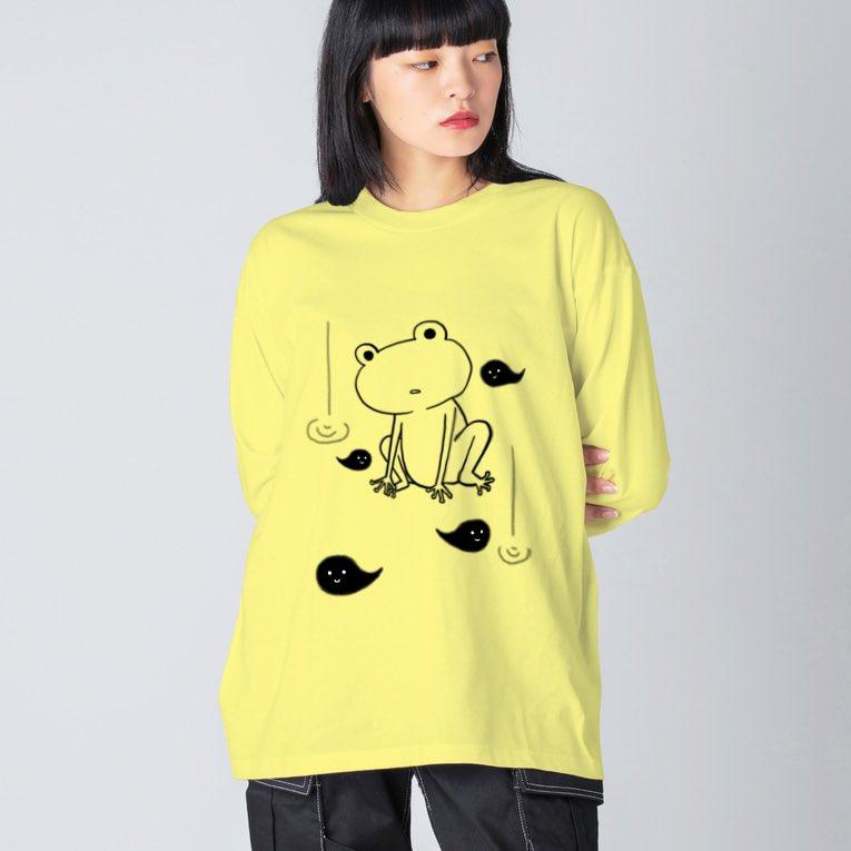 【ぼ〜っとしたカエルくん】を#suzuri さんと #UpーT さんでリリース開始しました😊このカエルくんと目が合うと、なんか心奪われると思います。あなたの側に連れて帰ってあげてね💖#suzuriで販売中 ➡️ Up-Tさんは、 から入店してください🙇♀️