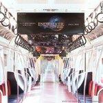 『暁月のフィナーレ』発売記念!ファイナルファンタジー14が東京メトロ 銀座線・丸ノ内線の電車内広告をジャック!