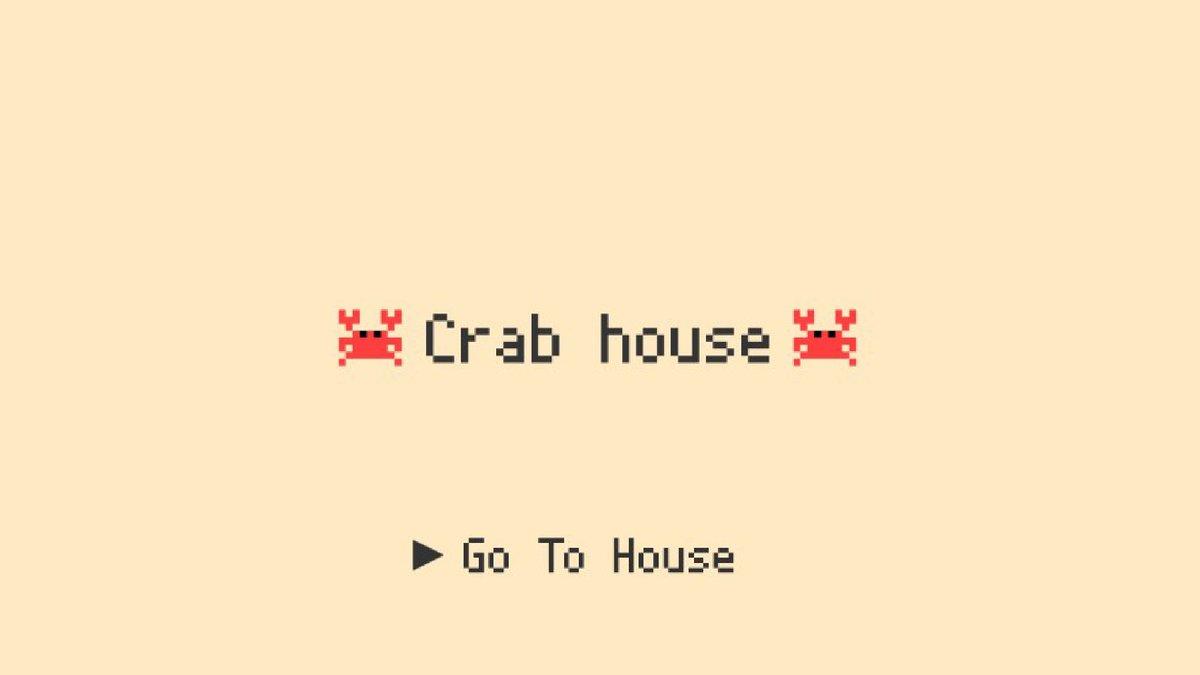 Clubhouseの使い方が全然わからないのでCrabhouseを3日で作りました。誰かがゲーム起動するとカニが増えます。たまにしゃべります。それだけカニ。#Crabhouse