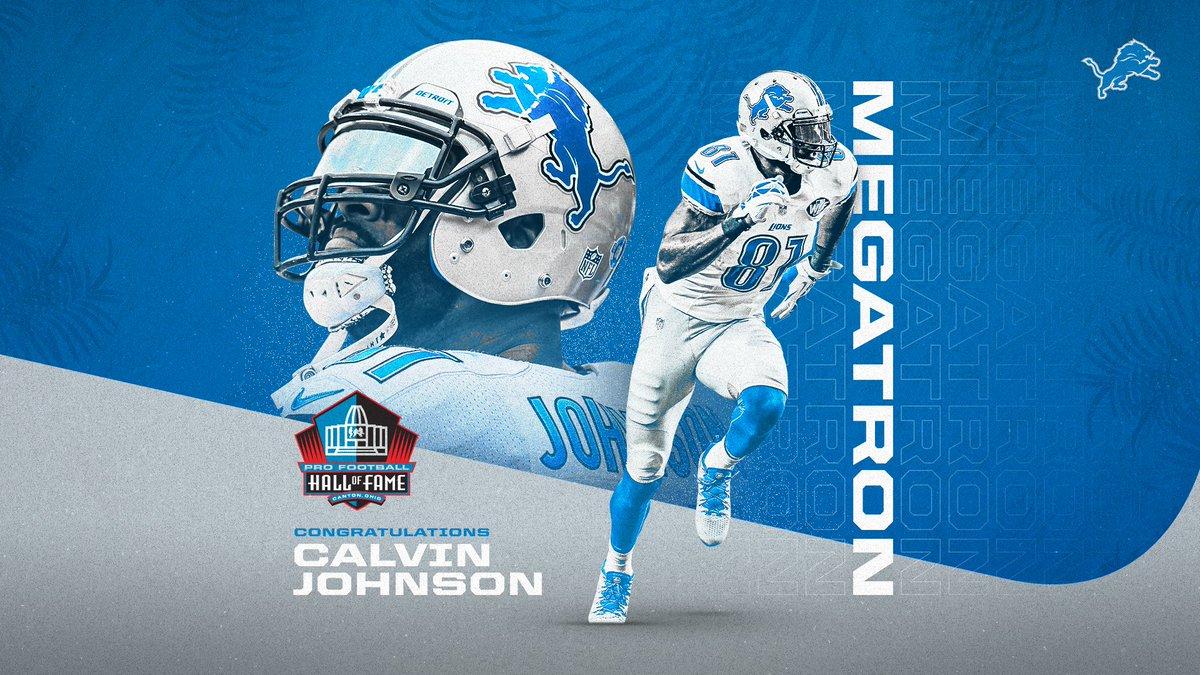 Replying to @Lions: Congrats, @calvinjohnsonjr‼️