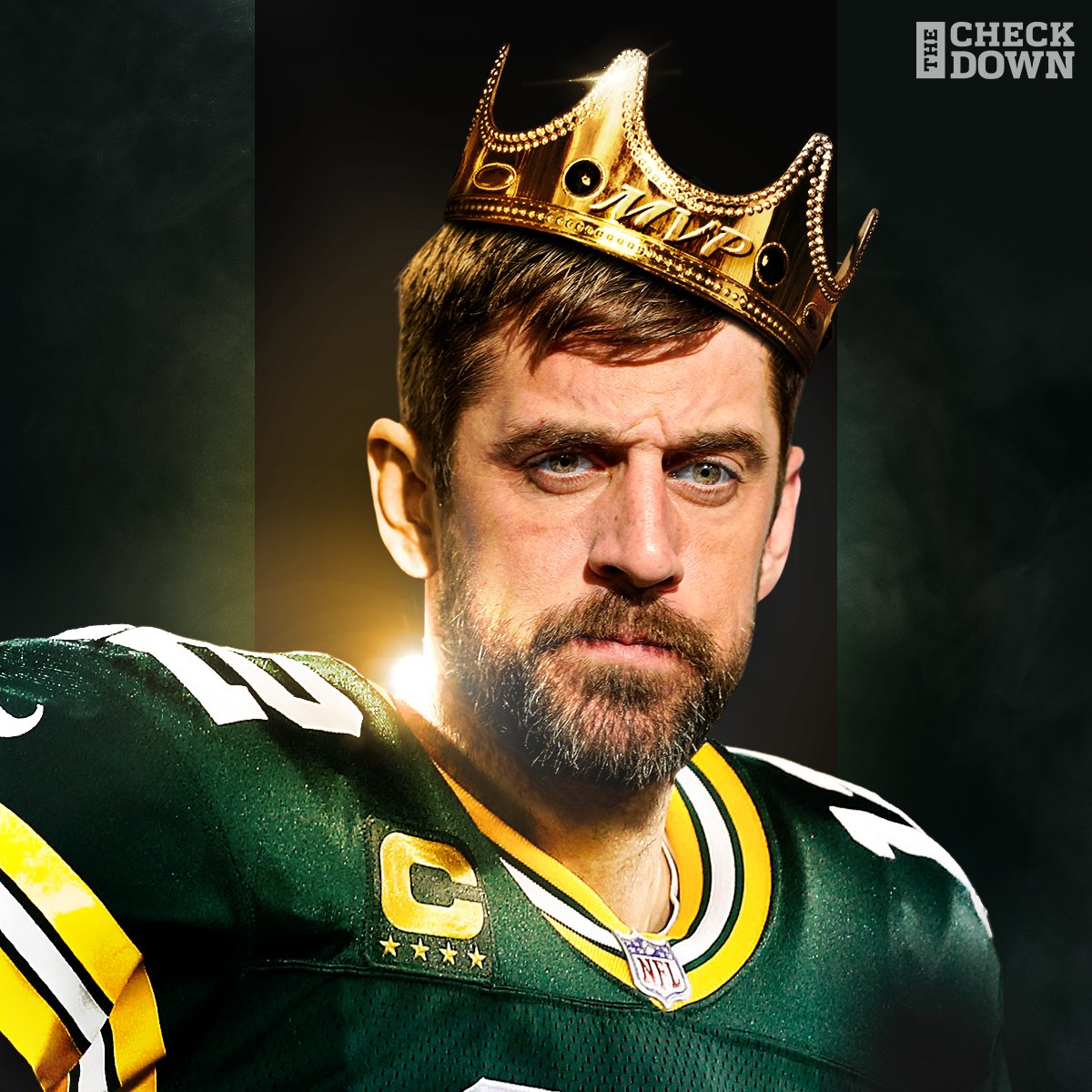 Replying to @thecheckdown: The MVP has been crowned 👑🏆 @AaronRodgers12 @packers