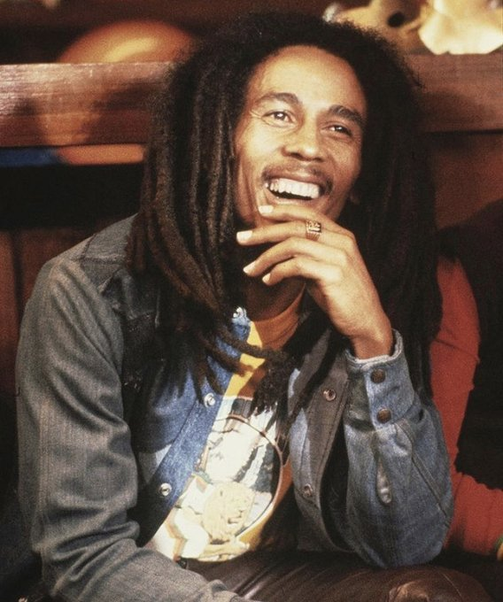 Happy Birthday Bob Marley Thank you for sharing your light