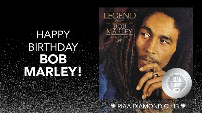 A very happy legendary birthday to the legend, philosopher, musician and revolutionary - Bob Marley!