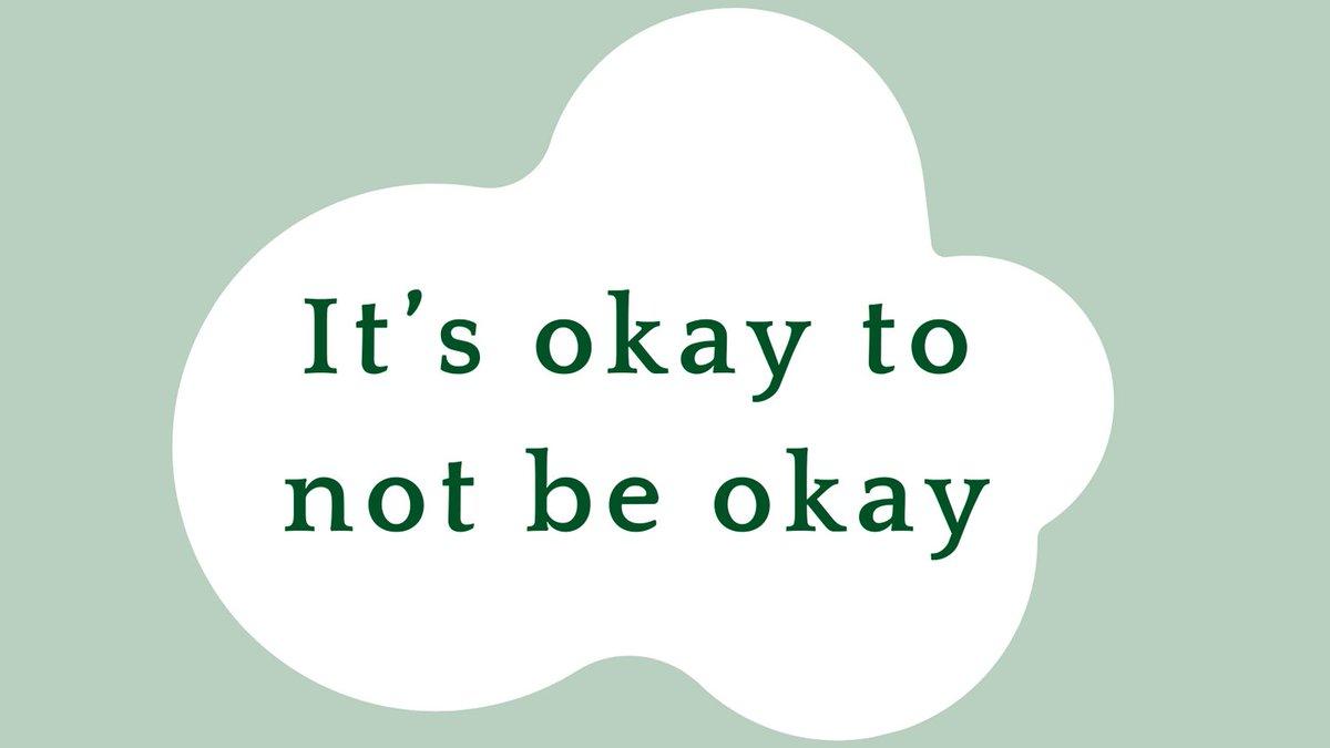 It's okay to not be okay #mentalhealth #anxiety #feelthefeels #London https://t.co/TSlyuoDP3K