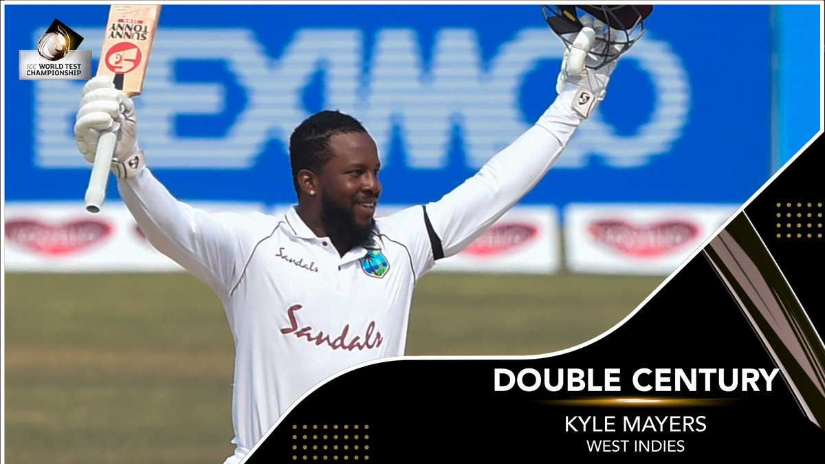 Image result for Kyle Mayers double century