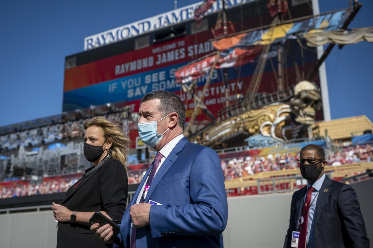 While the football teams are on the field today, #DHSgov personnel and their partners will be all around it. Learn about our work to secure #SuperBowlLV:  #SuperBowl #SuperBowl2021
