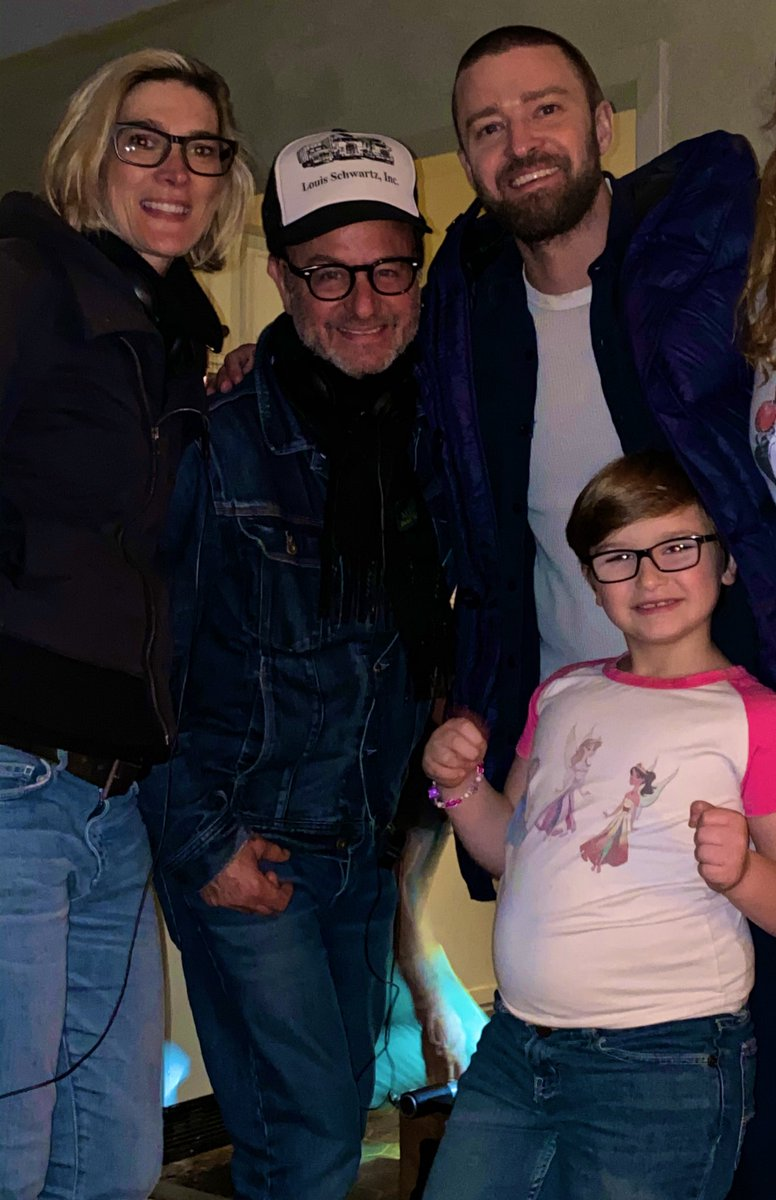 I'm so grateful to have worked beside these incredible humans! Thank u #JustinTimberlake for being such a good guy ❤️ & for your knockout performance as Eddie Palmer! 🙏 to #RyderAllen gifted & adorable! 🥰#FisherStevens for directing such a beautiful film! 🙌 #PALMER @AppleTV