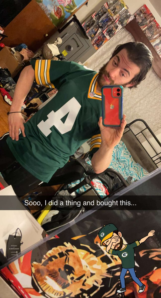 So, I did a thing and bought this  #GreenBayPackers #GoPackGo #brettfavre #packersnation #GreenAndYellow #cheesehead