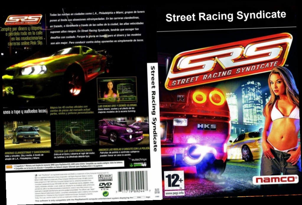 List syndicate street racing car Steam Community