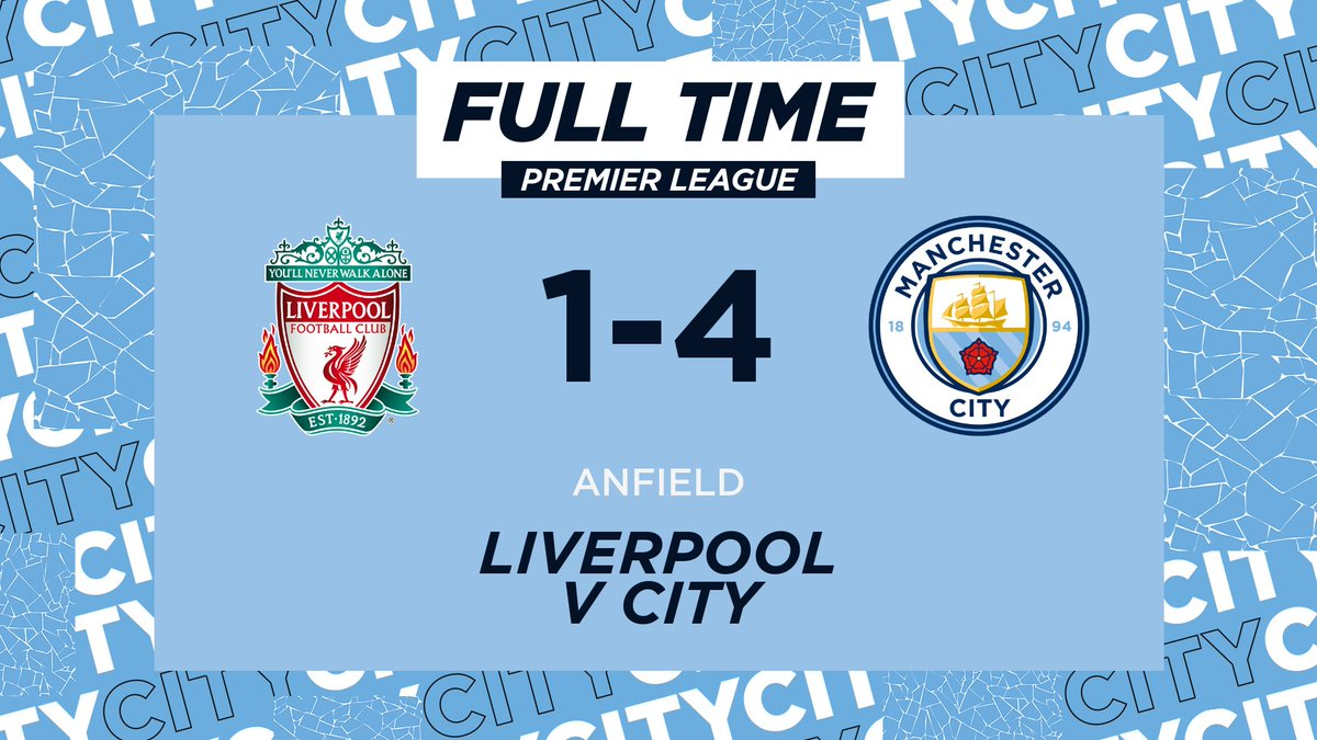 Manchester City On Twitter Full Time This Club 1 4 Mancity Https T Co Axa0kld5re
