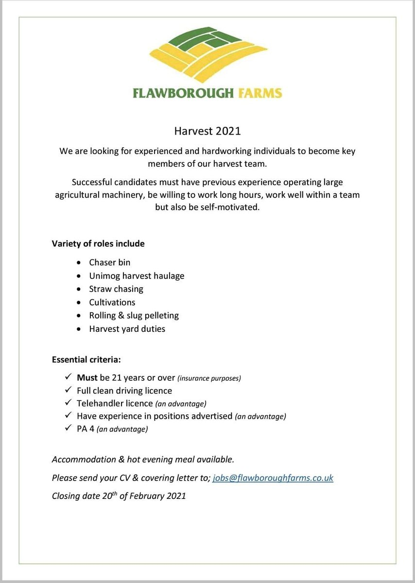 test Twitter Media - RT @flawborough_fms: JOB ALERT 🚨- come and join us this summer/autumn https://t.co/OfkxIpD1rx