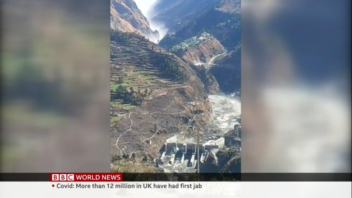 インド 氷河 崩壊