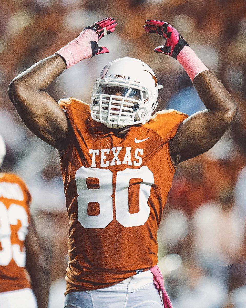 Alex Okafor Texas Longhorns Football Jersey - Orange