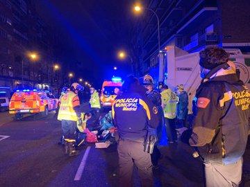 Foto cedida por Emergencias Madrid