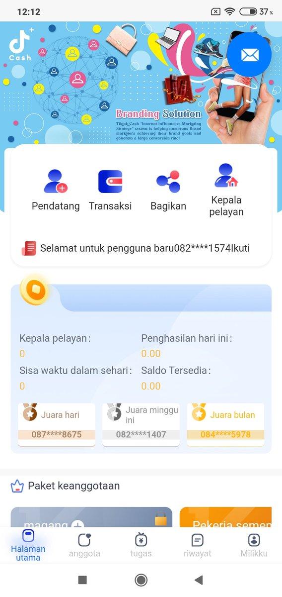 Ojk Indonesia On Twitter Halo Tiktok Cash Tidak Terdaftar Dan Tidak Berizin Di Ojk Mohon Berhati Hati Dan Kami Sarankan Untuk Selalu Menggunakan Perusahaan Fintech Yang Terdaftar Berizin Di Lembaga Yang Berwenang Seperti Ojk