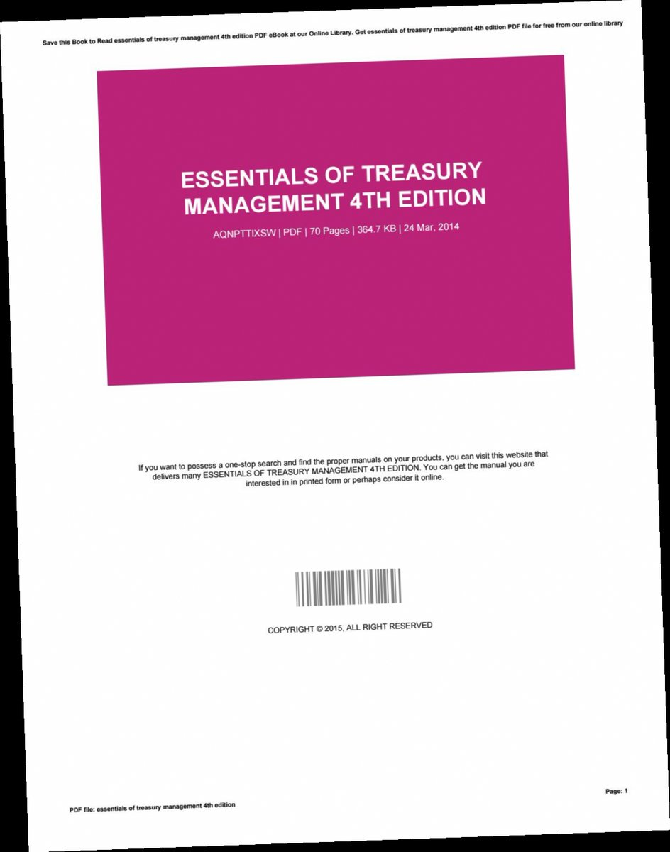Trouble At The Treasury PDF Free Download